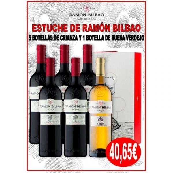 comprar estuche de vinos ramón bilbao