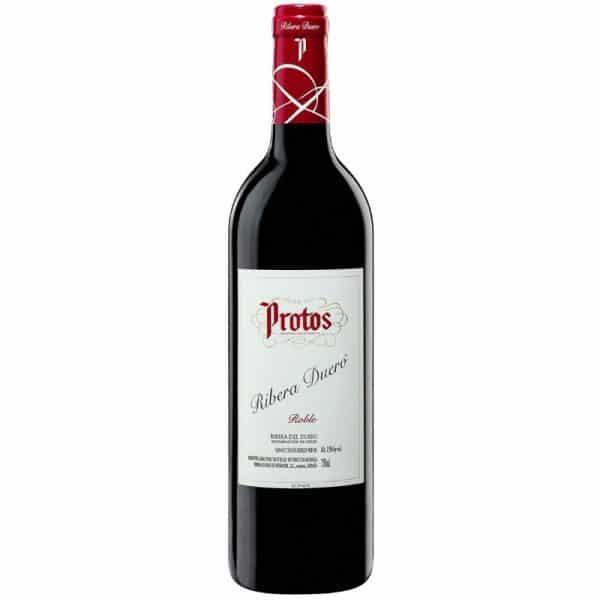 vino de la ribera del duero protos roble